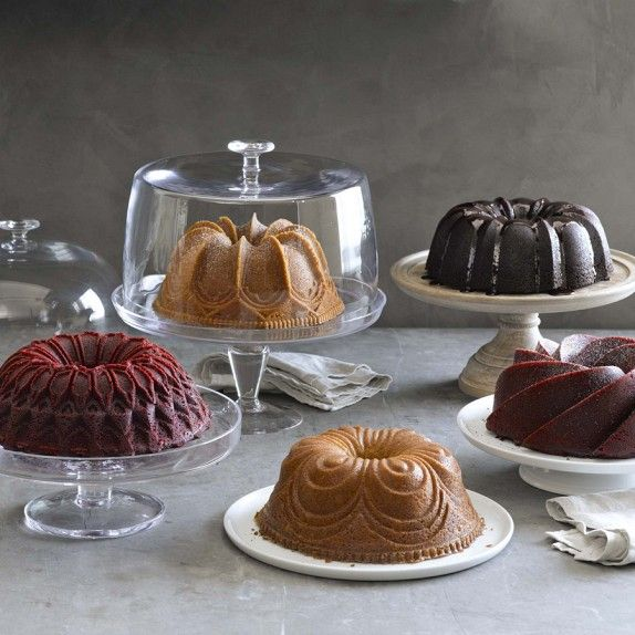 Beautiful bundts from Nordic Ware molds. CLICK HERE FOR A CHANCE TO WIN A $5,000 WILLIAMS-SONOMA GIFT CARD TO PURCHASE YOUR DREAM REGISTRY: http://r.linqia.cc/89d9012 #sp #giveaway