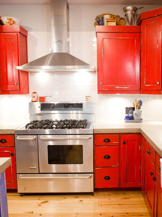 20 Best Images About Red Kitchen Ideas On Pinterest
