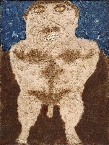 Jean Dubuffet. Will to Power (Volonté de puissance). January 1946 - Guggenheim Museum