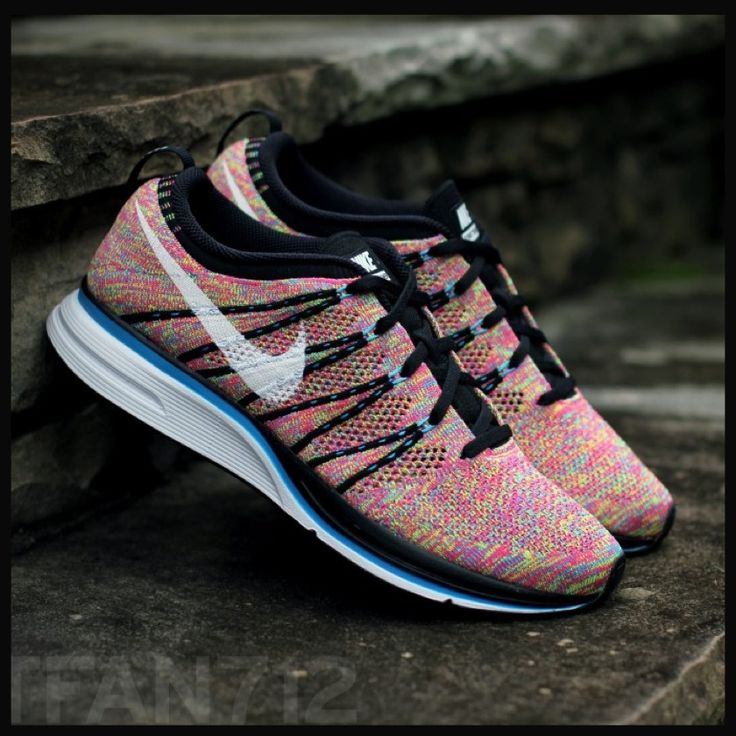 multi colored nike shoes womens