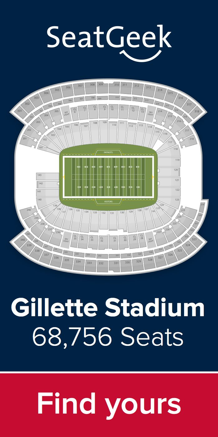 The best deals for Patriots tickets are on SeatGeek!