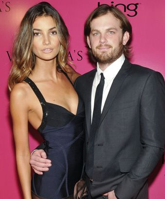 Caleb Followill and Lily Aldridge in 2009