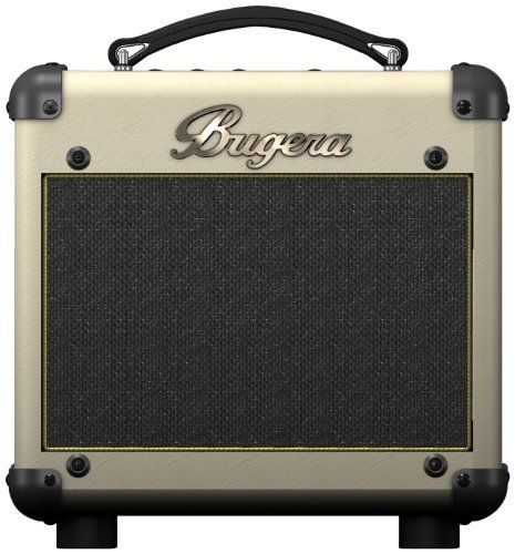 "Bugera  BC15 15-Watt Vintage Guitar Amp with 12AX7 Valve by Bugera. $108.99. BUGERA BC15 Boutique-Style 30-Watt Class-A valve amplifier Combo with Reverb and Power Attenuator  Extremely versatile guitar amplifier with hand-selected 12AX7 valve Authentic vintage design and classic guitar sound Powerful 30-Watt, 8"" vintage-tuned guitar speaker 2-channel tube preamp and wide-range gain control for super-fat sounds with all pickup types Dedicated 2-band EQ plus mid-shift butto..."