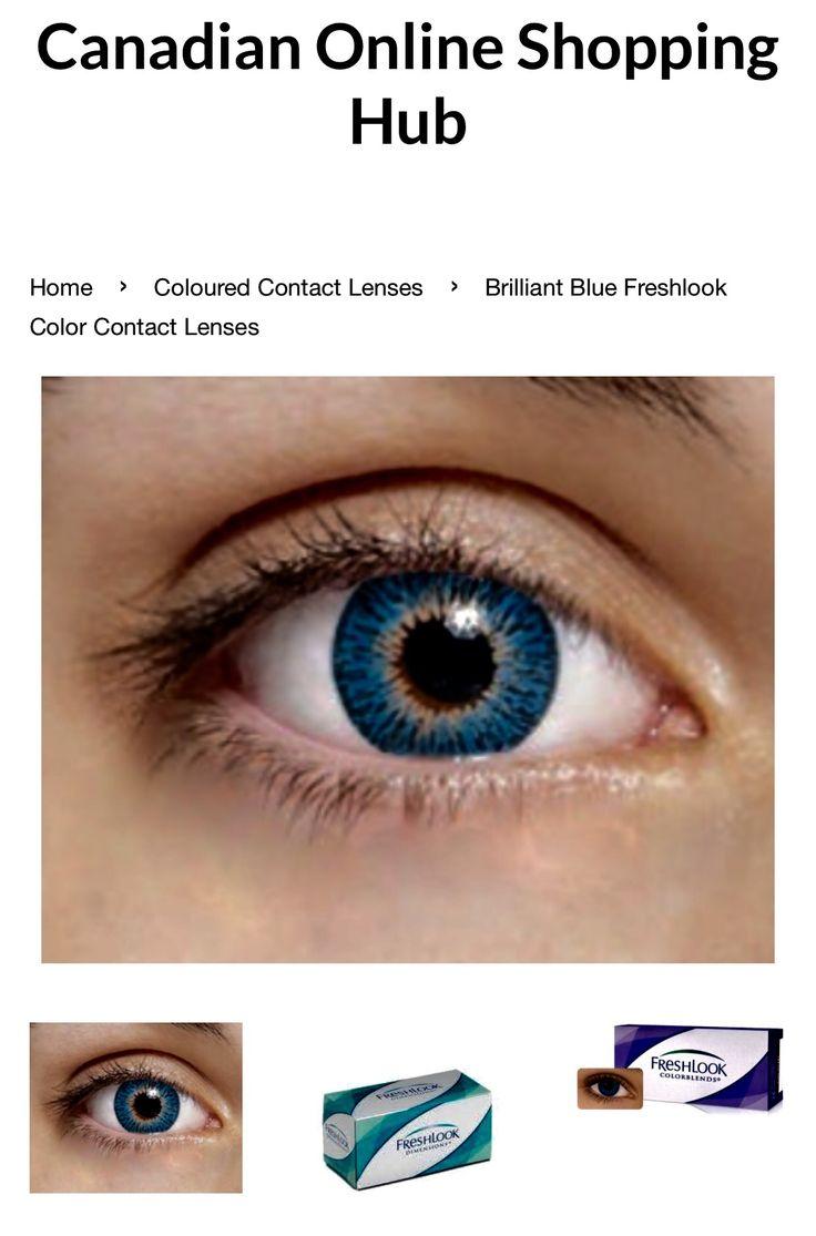 Color contact lenses online shop