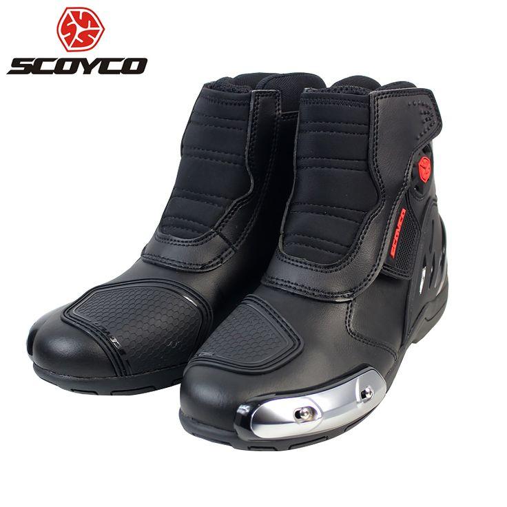 Botas de Corrida De moto Anti-queda Bota Motociclista Moto Motocross Sapatos Wearable Primavera Verão Para Homens Curto Botas de Rua MR002 | 32824269983_ru