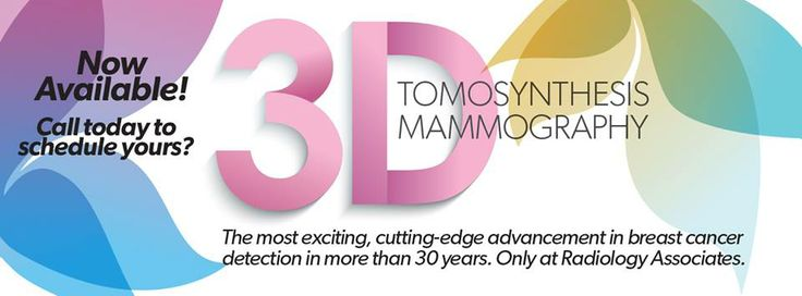 3D Tomosynthesis is extraordinary technology allowing radiologists to look through the breast tissue one millimeter at a time seeing detailns inside the breast in a way never before possible..  Only at Radiology Associates!  Call and schedule yours today. (361)887-7000