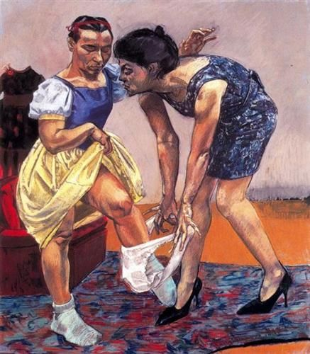 Snow White and her Stepmother - Paula Rego