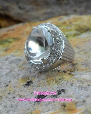 Cincin Natural Rock Crystal Kinyang Air Small Size