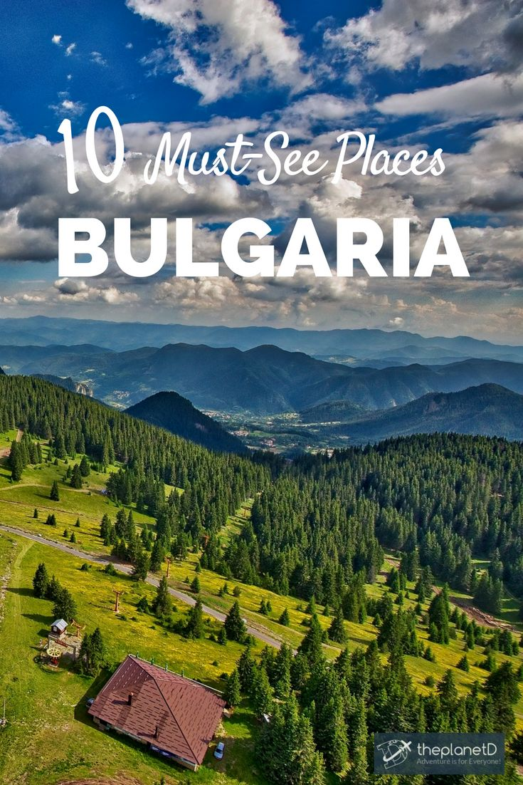 10 places that will make you want to travel to Bulgaria