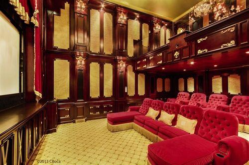 Mansion Theater Room 48698 | RAMWEB