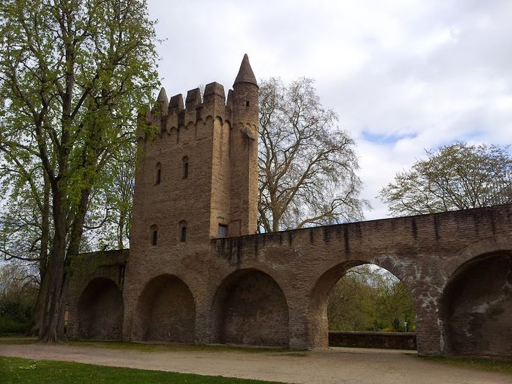 Close to the cathedral of Speyer, Palatinate