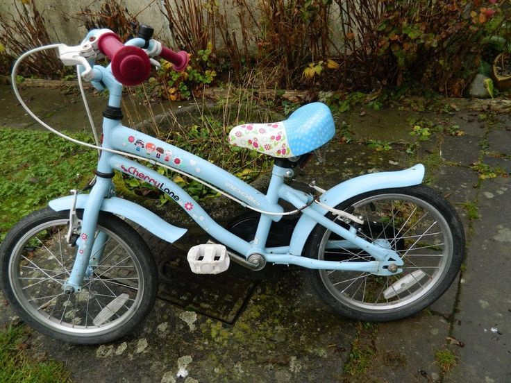 Apollo Cherry Lane Girls Bike 16 inches Approx 5-7 years