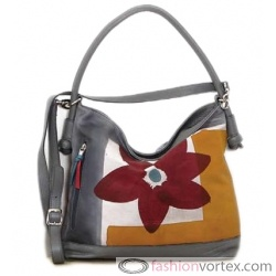 Astore Italian Handbag/Shoulder Bag – Floral Multicolor