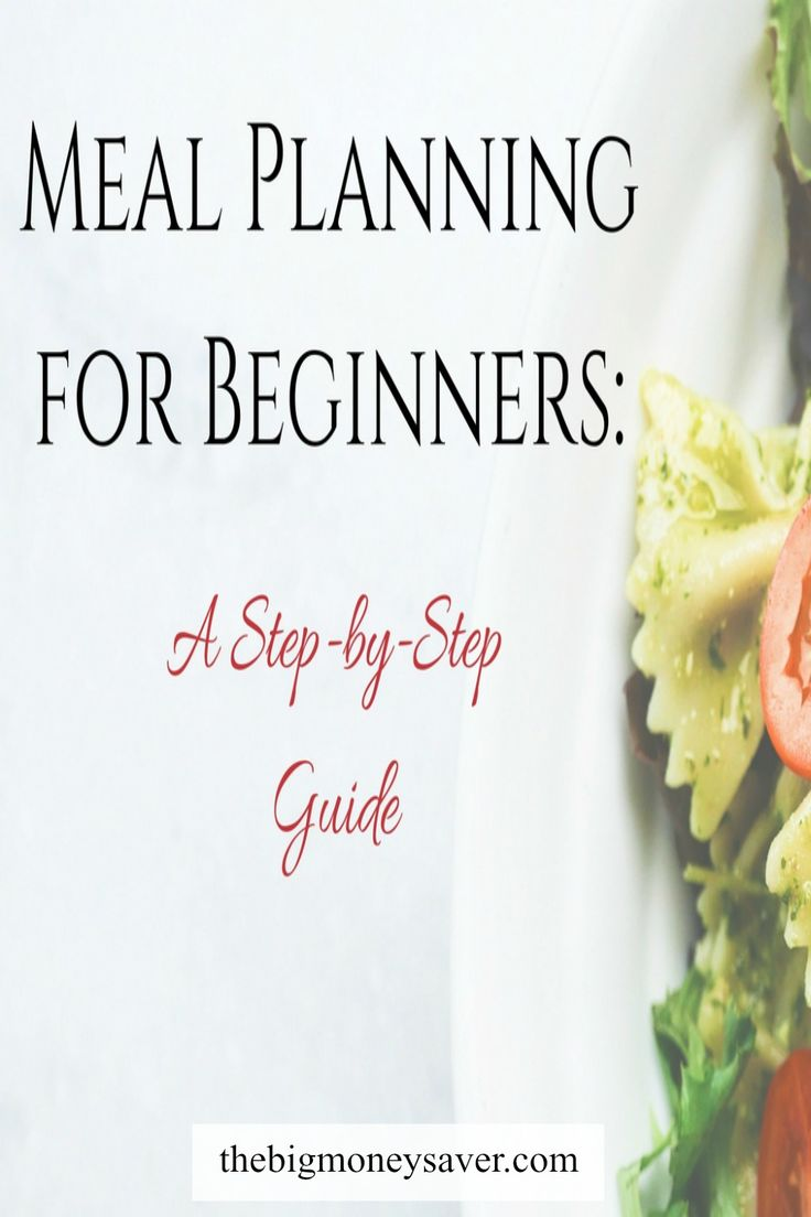 These meal planning basics are great! Make your life easier while saving time and money. Check out meal planning for beginners: A step-by-step guide!