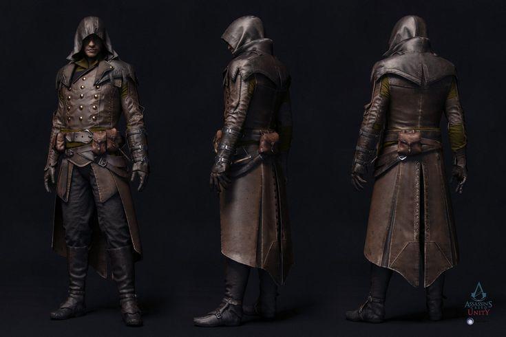Assassin's Creed Unity - Arno V3, Vince Rizzi on ArtStation at http://www.artstation.com/artwork/arno-v3-e6b3996b-4f89-4835-85d3-411274a970e3