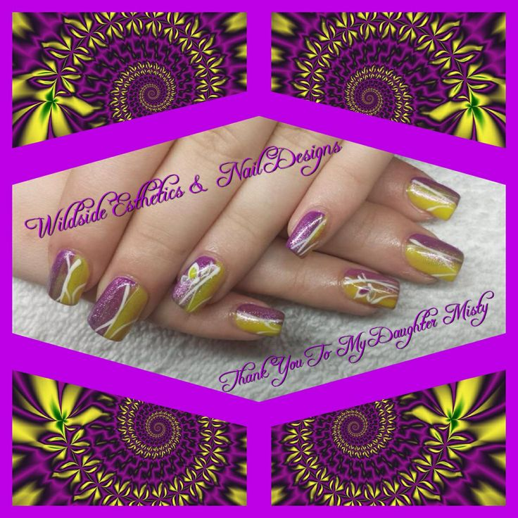 Purple & Yellow For My Girl...