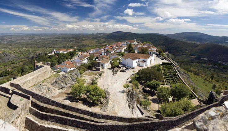 Marvao (Portugal) This border town is a fortified city and castle on a hilltop.