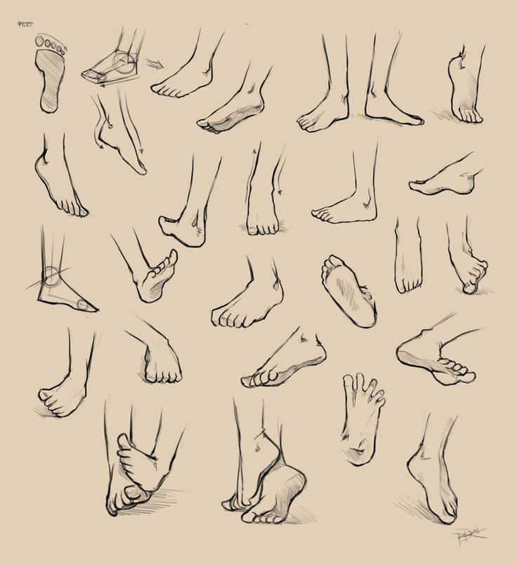 Feet Reference by =Ninjatic