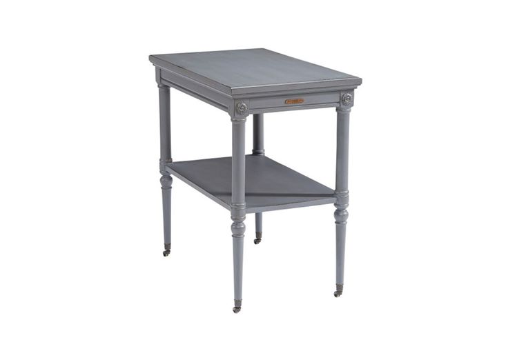 Magnolia Home Petite Rosette French Grey Accent Table