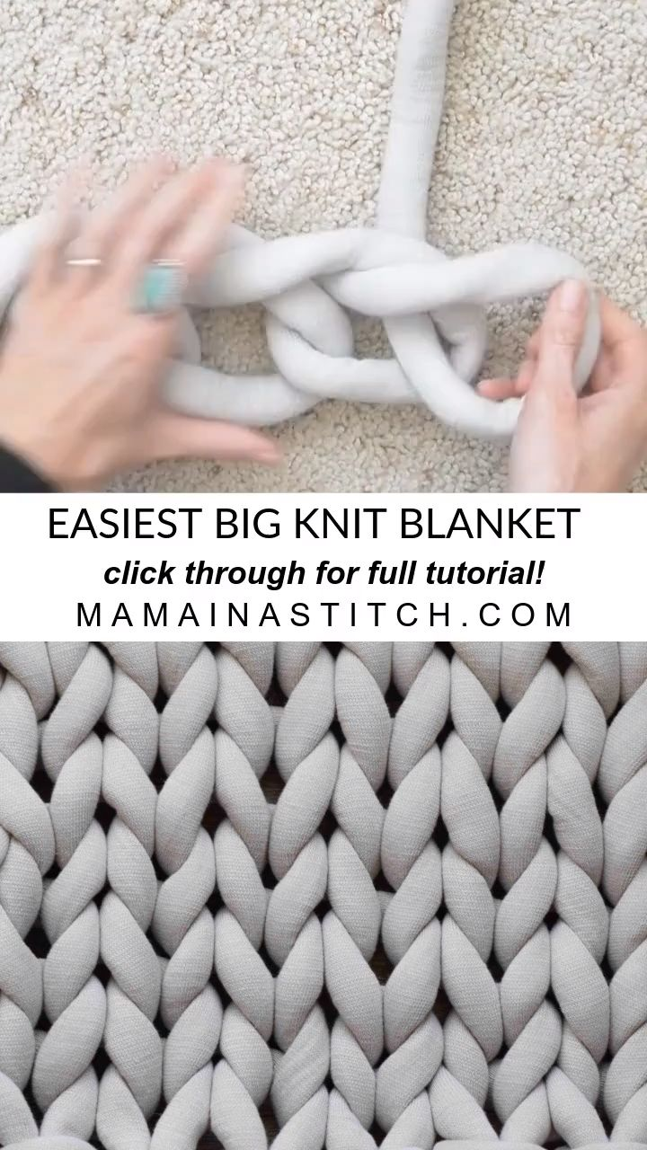 Easy Finger Knitting Bunny Diy - Oh-My-Cuteness How Darling Are