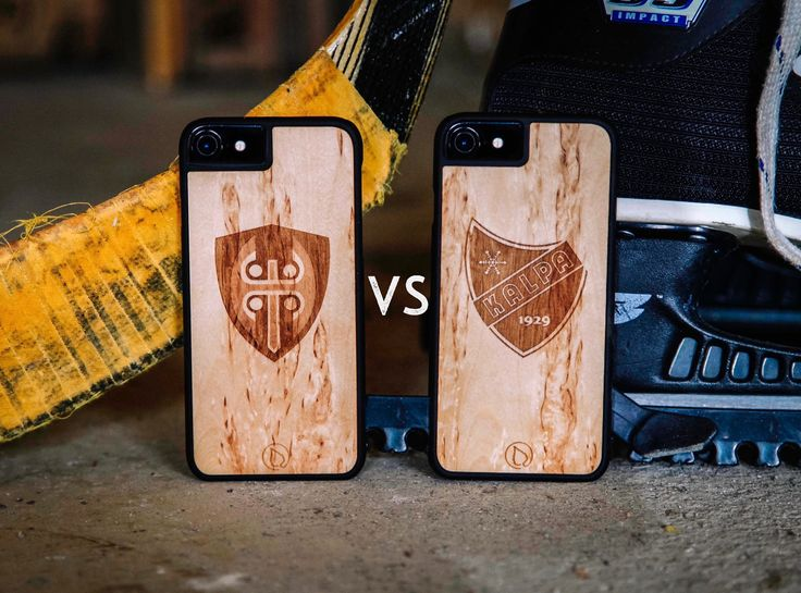 Wooden Phone Cases with your company/team logo.