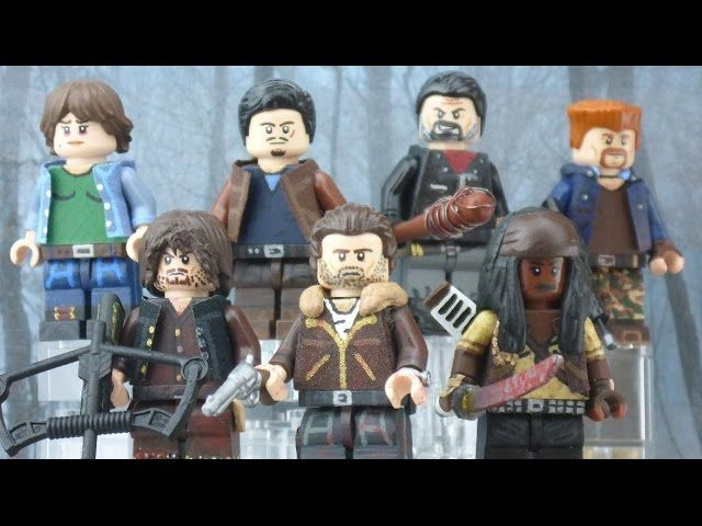 LEGO The Walking Dead: Season 7 Premiere - Custom Minifigures Showcase - Video --> http://www.comics2film.com/lego-the-walking-dead-season-7-premiere-custom-minifigures-showcase/  #TheWalkingDead