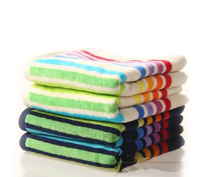 If you are in search of Multi-Colour Striped Set of Towel, place bulk order or notify via mail from one of the top USA, Australia and Canada manufacturers and suppliers,
