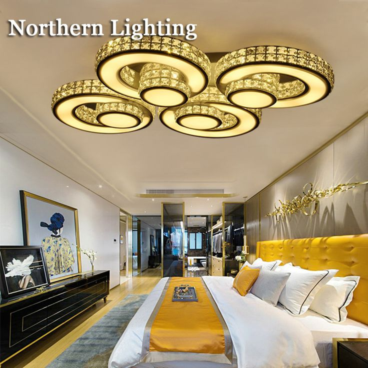 Hot Crystal Modern Led Ceiling Lights For Living Room Bedroom Home Indoor  Decoration Led Ceiling Lamp Part 61