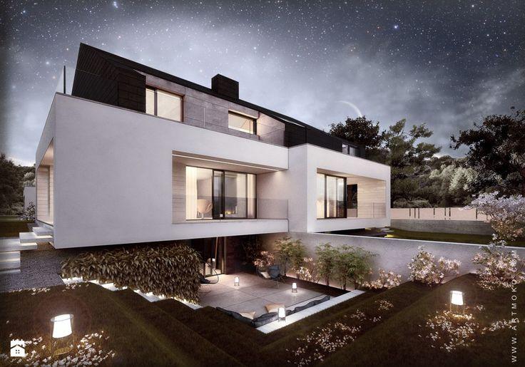 Domy styl Minimalistyczny - zdjęcie od artMOKO