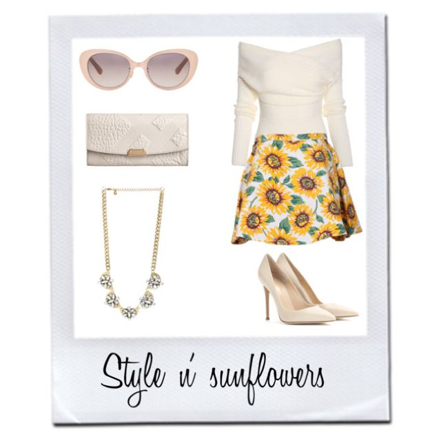 Stylish n' sunflower