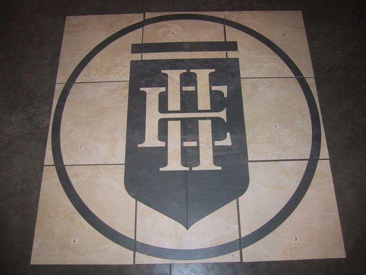 Creating Logo Floor Design Using Waterjet Cutting
