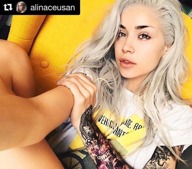 @alinaceusan este super creativa si a construit o maneca din mai multe tatuaje #blackink We ❤️ it! #flashtattoosromania #tattoosleeve