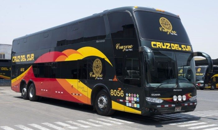 Cruz del Sur bus in Peru