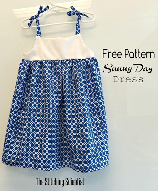 Free Pattern Sunny Day Toddler Dress