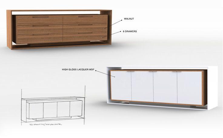 jeremy kaplan furniture design case goods pinterest