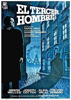 El tercer hombre (1949) Reino Unido. Dir: Carol Reed. Cine negro. Suspense…