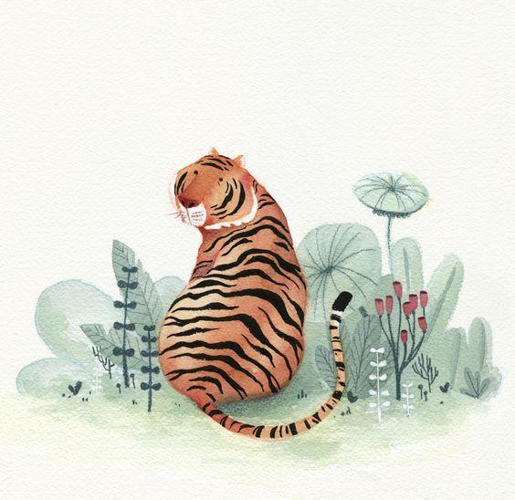 Quel Pinceau Choisir A L Aquarelle Tigre Aquarelle Art Tigre