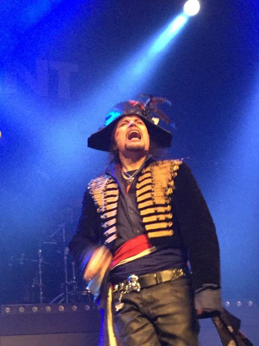 Adam Ant King Of The Wild Frontier tour 2016 London Roundhouse 18 December