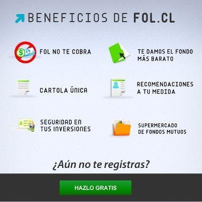 Beneficios de invertir en Fol.cl