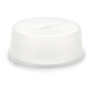 Emsa BASIC 504916 Cake Dome 33 cm White Opaque Translucent: Amazon.co.uk: Kitchen & Home