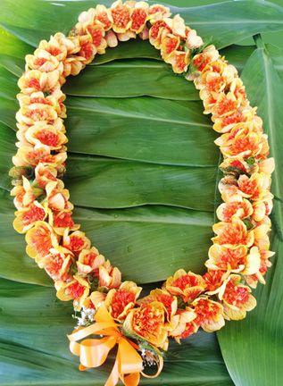 Double Ilima Flower Lei - Aloha Hawaiian Flowers