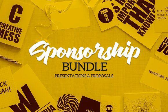 Sponsorship Bundle by Docyart on @creativemarket