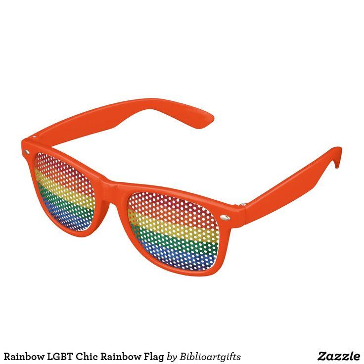 Lunettes De Soleil Gay Pride Drapeau Flag Rainbow hWCQO