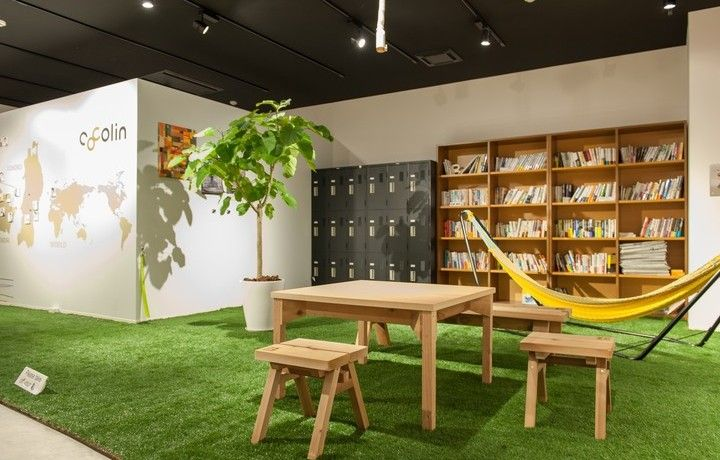 Coworking Space - cocolin, Sendai City, Japan - Office - Biophilia - Nature Indoors - Breakout