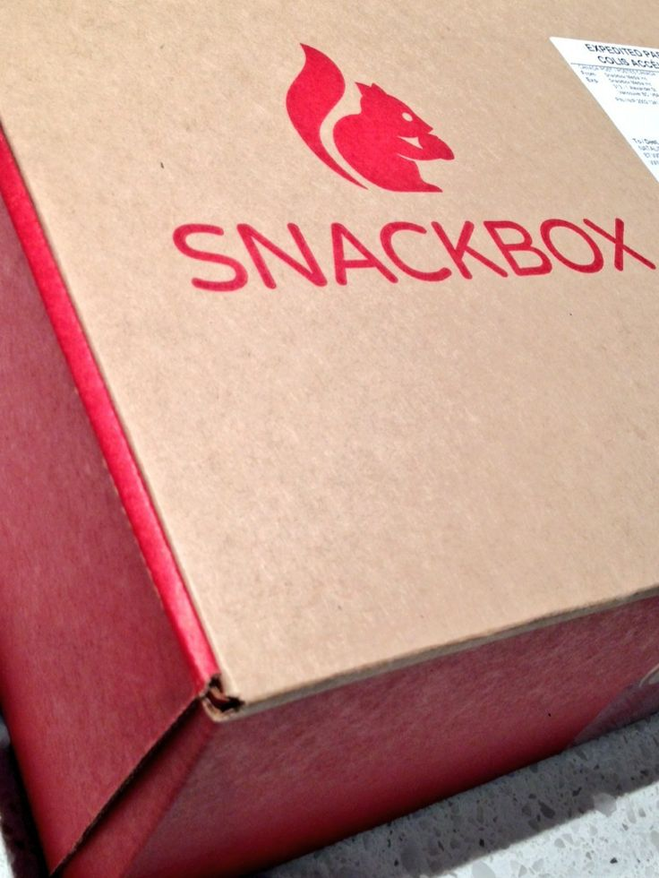 Healthy Snacks Every Month with Snackbox #Giveaway #PCLGiftGuide