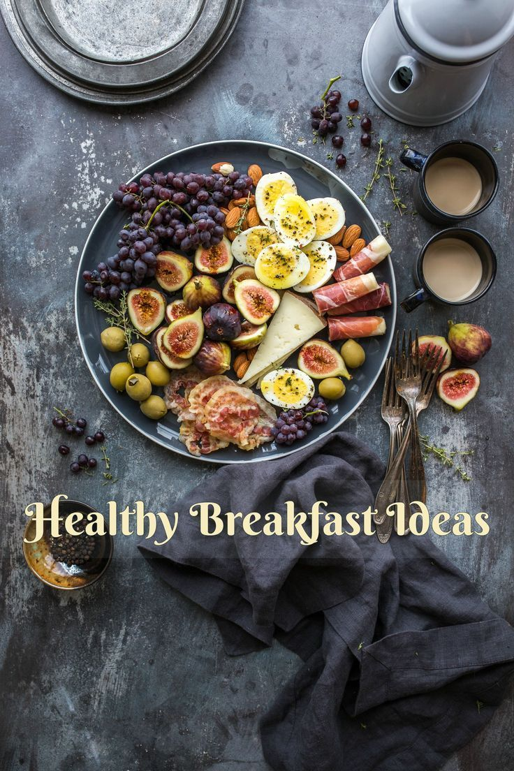 Healthy breakfast ideas. Porridge with Banana and strawberries Scrambled eggs with smoked Salmon Multigrain strawberry waffles Avocado and strawberry smoothie. Mushroom with Omelette and Tomatoes