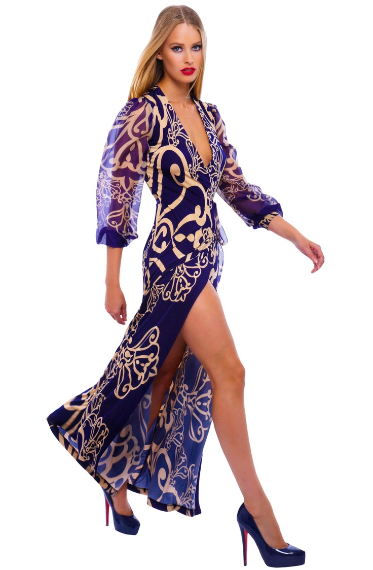 Analili: janelle arabesque print wrap maxi dress - janelle arabesque print wrap maxi dress, dresses ~ I NEED this!!!