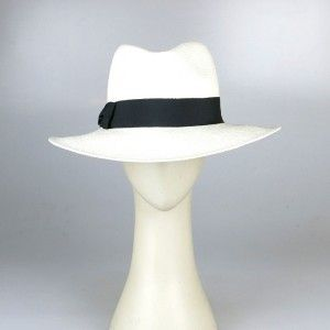 White Fedora hat. Perfect for the beach!