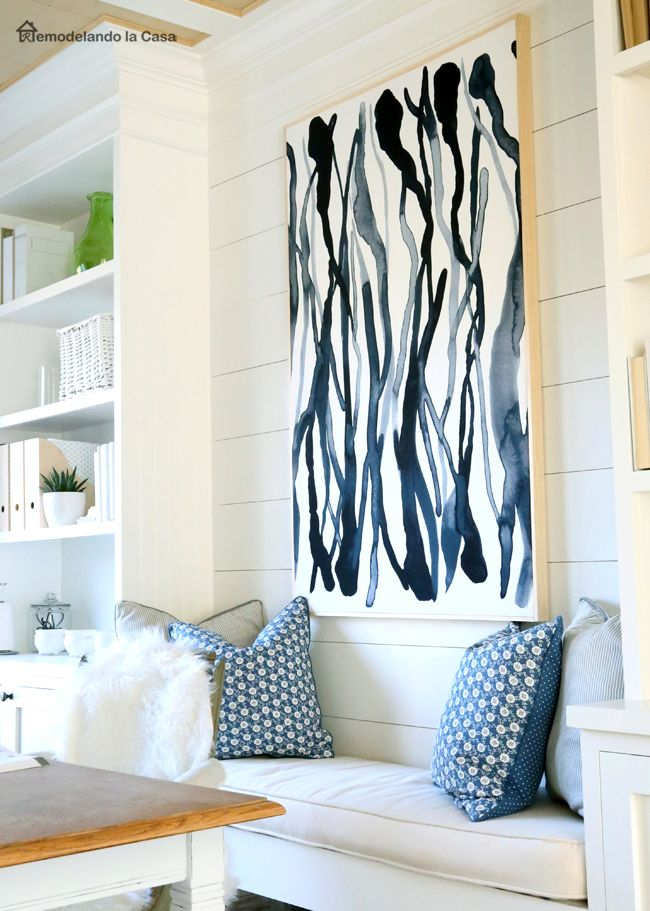 Diy Wall Art You Can Update Fabric Wall Decor Diy Canvas Wall Art Textile Wall Art