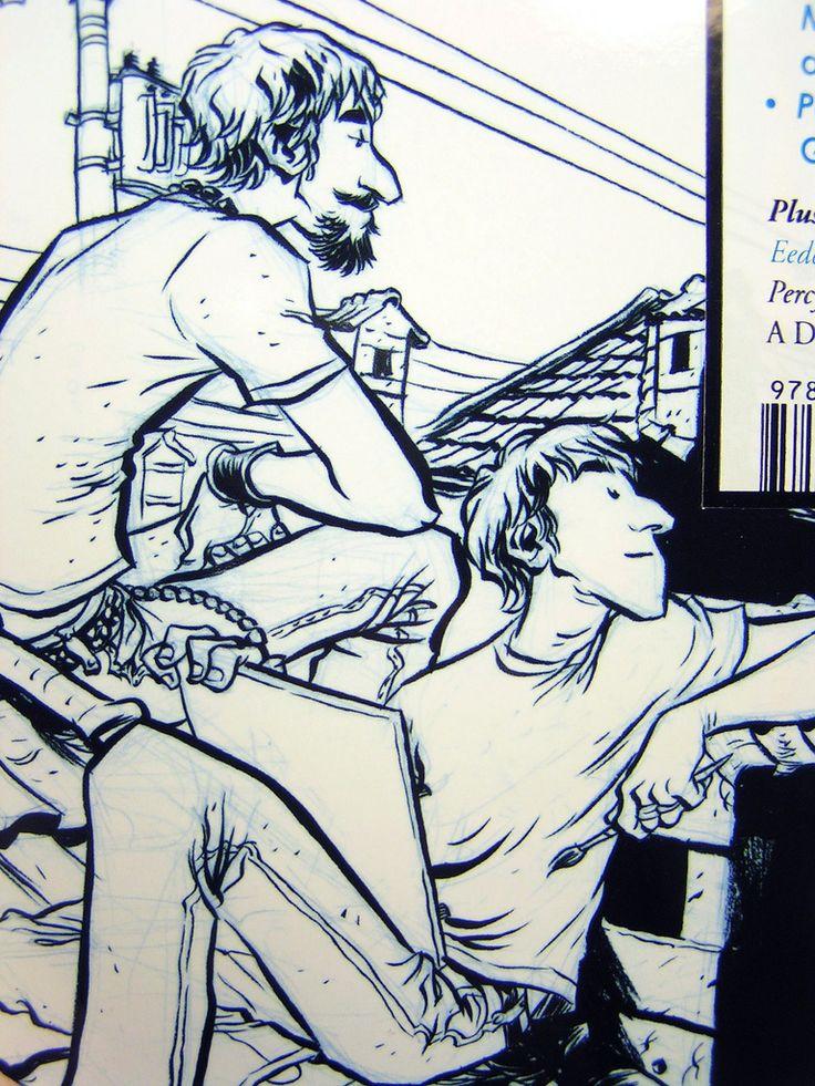 The Comics Journal #298 - cover detail, Gabriel Ba & Fabio Moon